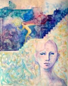 watercolor by Nancy Wait
