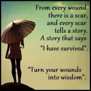 wounded wisdom
