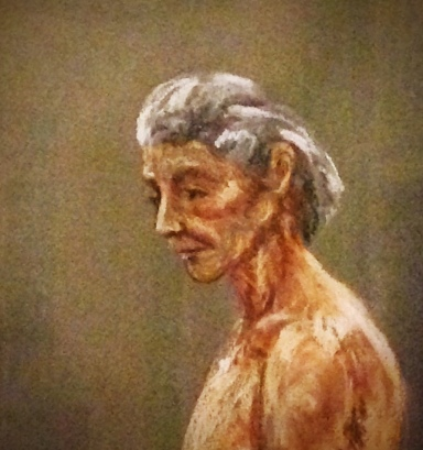 (detail) pastel, Nancy Wait, student work 1979