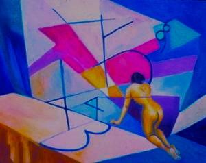 oil on canvas by Nancy Wait