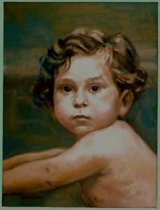 oil on canvas 16x20 by Nancy Wait 1985