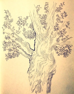 Imagining the flow of energy in a tree by Nancy Wait
