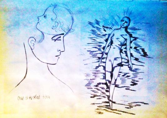 Drawing by Nancy Wait (1991)