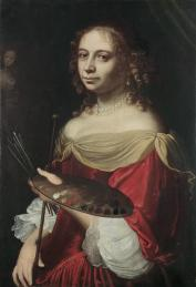 17th Century self-portrait