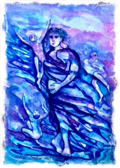 Watercolor by N Wait 1987