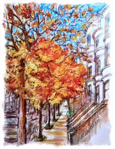 8th St., Park Slope, by N Wait 2015