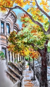 8th Street, Park Slope, by N Wait 2015