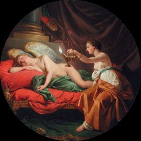Lagrenee, Louis Jean Francois - Eros And Psyche
