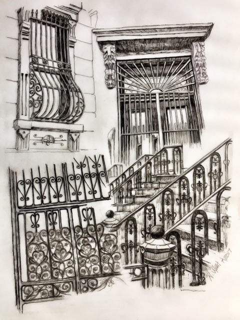 Iron Railings 2